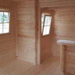 BECHER Holzhandel Gartenhaus innen