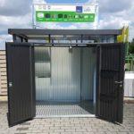 BECHER Holzhandel Bitburg Metallgerätehaus