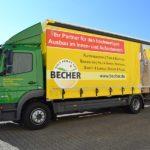 BECHER Holzhandel Lieferservice