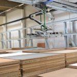 BECHER Holzhandel Maintal Plattenlager