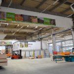 BECHER Holzhandel Maintal Lagerfläche und Holzberarbeitungszentrum