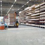 BECHER Holzhandel Maintal Lagerfläche