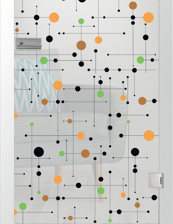 Platine, farbmattprint