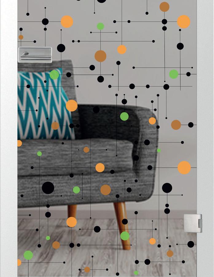 Platine, farbprint