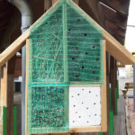 Insektenhotel in der Gartenausstellung BECHER Blieskastel