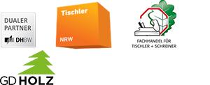 BECHER Holzhandel Mitgliedschaften Logos