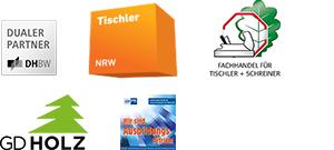 BECHER Holzhandel Oberhausen Mitgliedschaften Logos