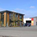 BECHER Holzhandel St. Wendel Verkaufsgebäude