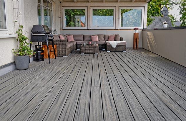 Trex Terrassendielen bei BECHER | Holzhandel BECHER