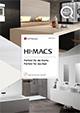 HI-MACS® Flyer für Küche und Bad