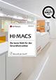 HI-MACS Broschüre Gesundheitswesen