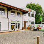 BECHER Holzhandel Frankfurt Aussenansicht