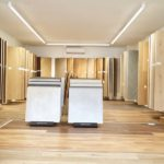 BECHER Holzhandel Frankfurt Bodenausstellung