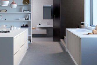 HI-MACS® für Küche und Bad