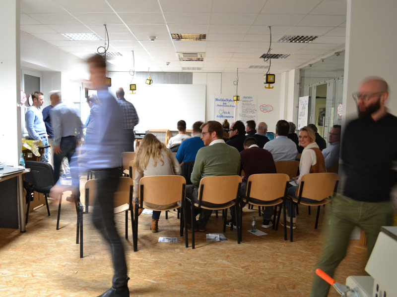 BECHER Akademie Infoabend Teilnehmer