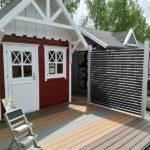 BECHER Blieskastel rotes Gartenhaus