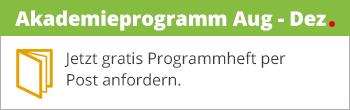 BECHER Akademie Programmheft