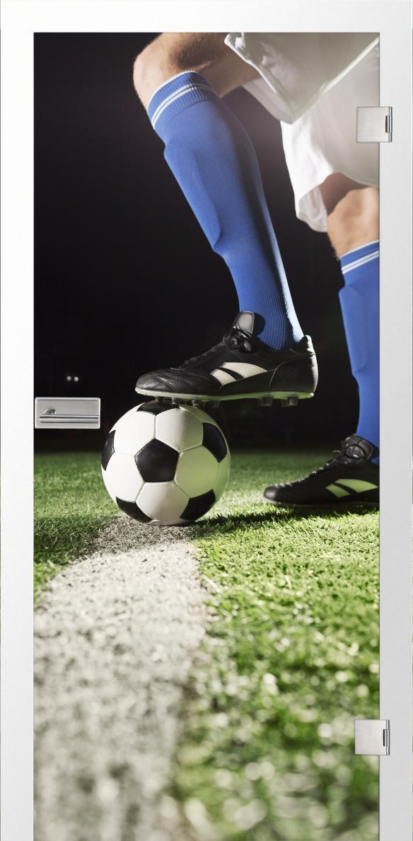 Fussball, fotoprint