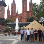 Kunstprojekt IFB-Stiftung mit BECHER