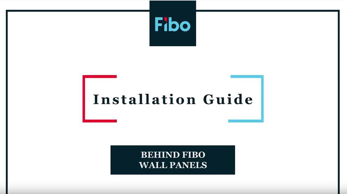 Hintergrund der Fibo Wandpaneele