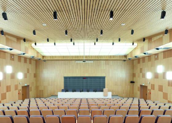 HunterDouglas Hörsaal