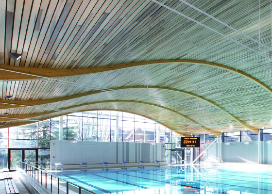 HunterDouglas Schwimmbad