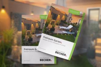 BECHER Gartenkatalog 2021 - Cover