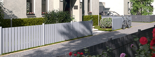 Aluminium Zäune bei BECHER
