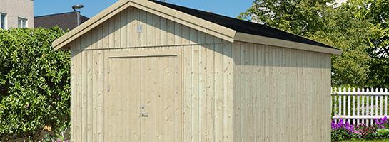 Gerätehäuser aus Holz bei BECHER