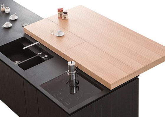 Küchenarbeitsplatte aus Paperstone