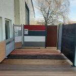BECHER Holzhandlung Köln Terrassenausstellung