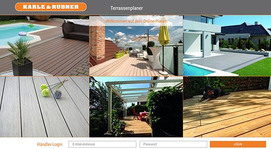 Terrassen online planen mit BECHER