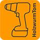 Logo HolzwurmTom