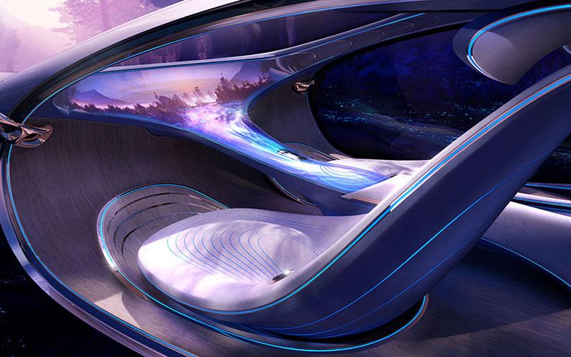 Mercedes Zukunftsauto mit karuun
