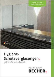 Broschüre Hygiene-Schutzverglasungen