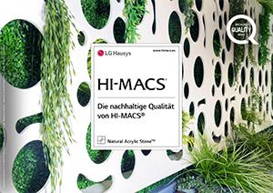 HI-MACS Broschüre Nachhaltigkeit