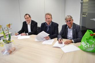 Pressemitteilung - Vertragsunterzeichnung neuer Standort Wuppertal