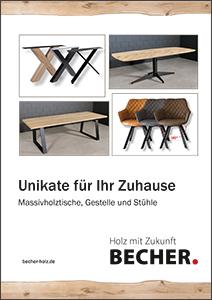 BECHER Eiche-Tischprogramm