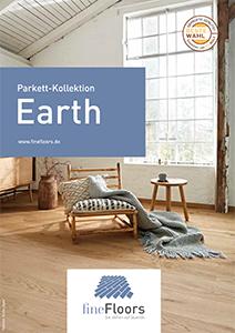 Broschüre Parkett Kollektion Earth