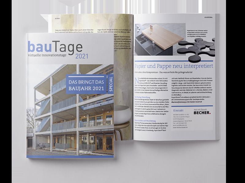 bauTage Printspecial