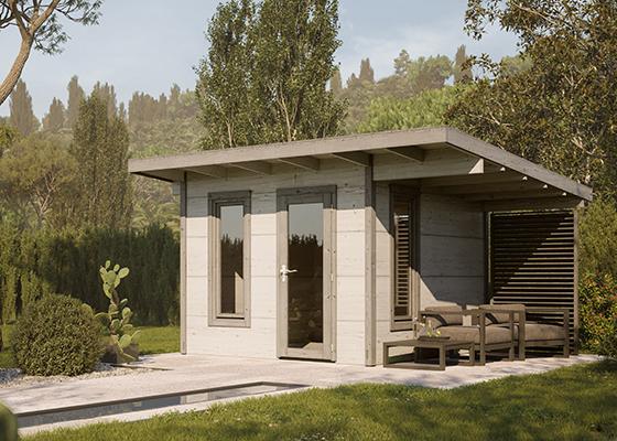 Palmako Modern Look Gartenhaus Grace