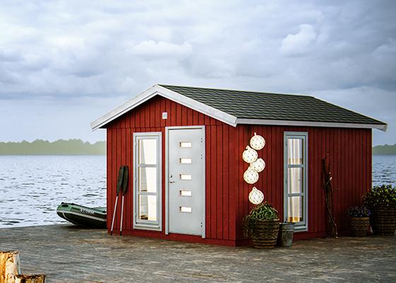 Palmako Nordic-Gartenhaus Ly