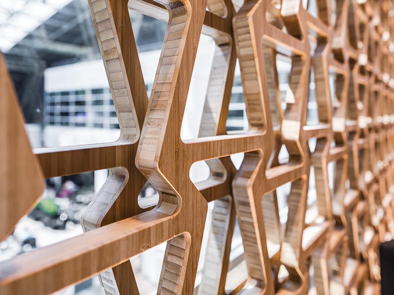 MOSO Bambus Sichtschutz
