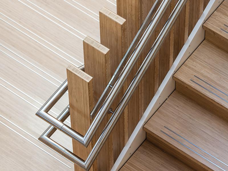 MOSO Bambus Treppe