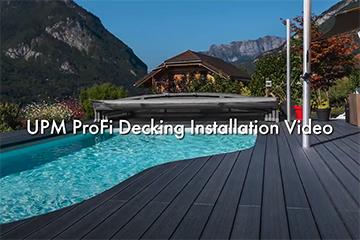 UPM ProFi Deck Verlegevideo