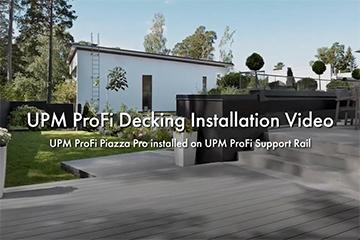UPM ProFi Piazza Pro Verlegevideo