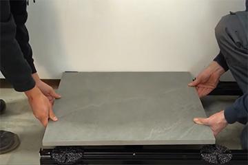 Karle & Rubner - Verlegung Keramikplatten