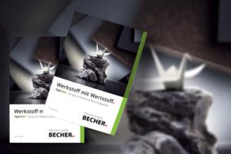 Neue PaperStone®Broschüre von BECHER online